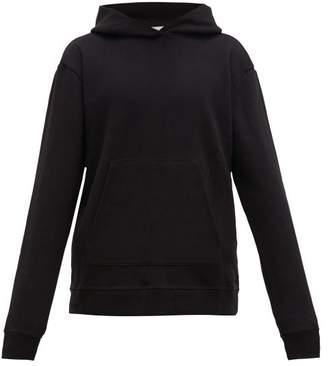 John Elliott Hooded Villain Loop Back Cotton Jersey Sweatshirt - Mens - Black