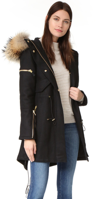 SAM. Delancey Wool Coat $995 thestylecure.com