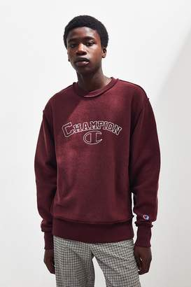 Champion Embroidered Inside Out Crew-Neck Sweatshirt