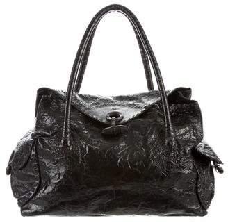 Henry Cuir Distressed Shoulder Bag