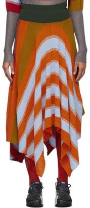 Kiko Kostadinov Multicolor Pistolera Skirt