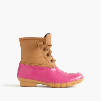 Girls' Sperry® Saltwater boots $70 thestylecure.com