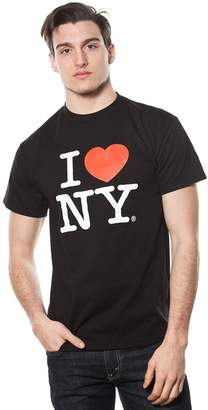 Adult Size I Love Ny Short Sleeve T-Shirt Black