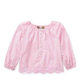 Polo Ralph Lauren Striped Cotton Eyelet Top(2-7 Years)