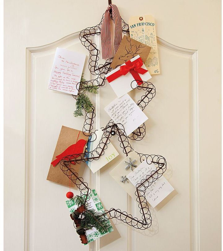 Pottery Barn Star Holiday Card Holder