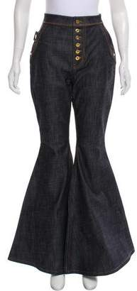 Ellery High-Rise Wide-Legs Jeans w/ Tags
