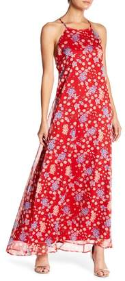 Lucy Paris Miranda Floral Print Maxi Dress