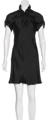 Rochas Silk Mini Dress