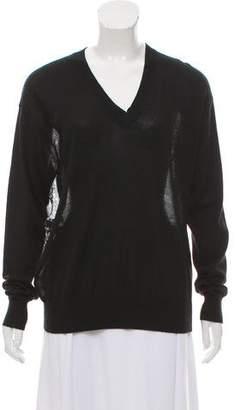Derek Lam Silk-Paneled Cashmere Sweater