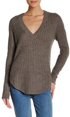 Melrose and Market V-Neck Sweater $29.97 thestylecure.com