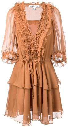 Shona Joy ruffled mini dress