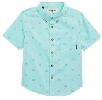 Billabong Sundays Stripe Print Woven Shirt