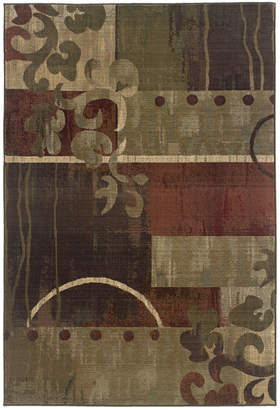 """Oriental Weavers Area Rug, Generations 8007A Tranquility 2' 7"""" x 9' 1"""" Runner Rug"""