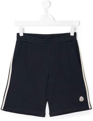 Moncler elasticated waistband shorts