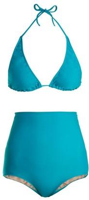 Adriana Degreas Le Fleur Bikini - Womens - Blue