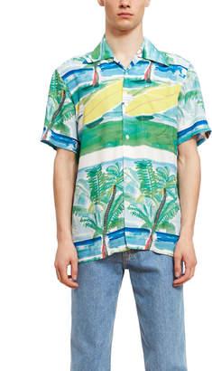 Aloha Blossom Filipe Surfboard Short Sleeve Shirt