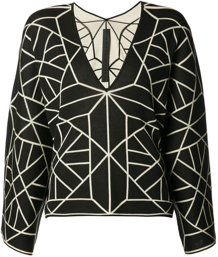 Gareth Pugh knitted long sleeve T-shirt