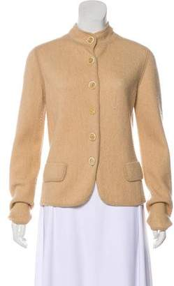 Max Mara Virgin Wool Knit Cardigan