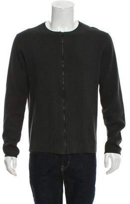 Won Hundred Fine Knit Zip-Up Sweater