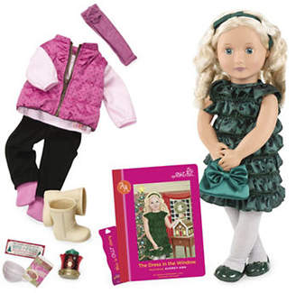 Our Generation Deluxe Audrey-Ann Doll with Book