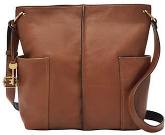 Fossil Lane NS Leather Crossbody Bag