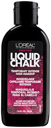 L'Oreal Pink Pop Liquid Chalk Temporary Intense Hair Makeup