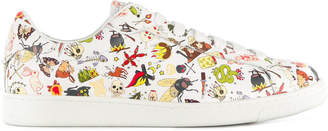 DSQUARED2 printed sneakers