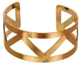 Panacea Hammered Zigzag Bracelet