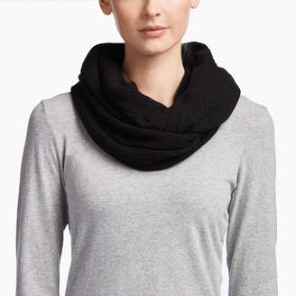 James Perse CASHMERE LADDER STITCH SCARF