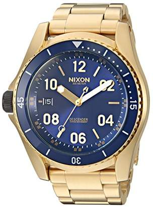 Nixon Men's 'Descender' Swiss Automatic Stainless Steel Casual Watch
