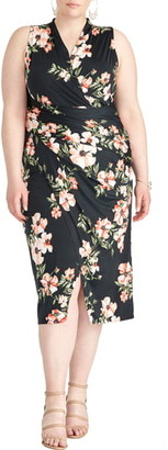 Rachel Roy Wildflower Poppy Sheath Dress