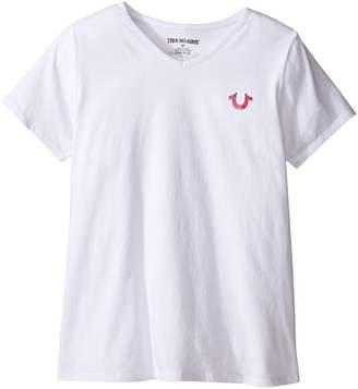 True Religion Branded Logo T-Shirt Girl's T Shirt