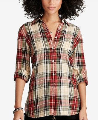 Denim & Supply Ralph Lauren Plaid Utility Shirt $59.99 thestylecure.com