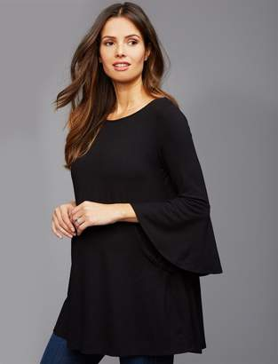 Isabella Oliver Bell Sleeve Maternity Top