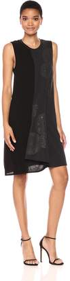 Desigual Women's Karla Woman Knitted Sleeveless Dress, Black, M
