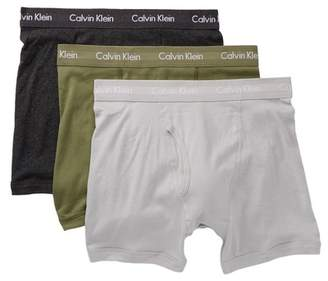 Calvin Klein Classic Fit Boxer Briefs - Pack of 3