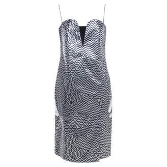 Kenzo Metallic Silk Dresses