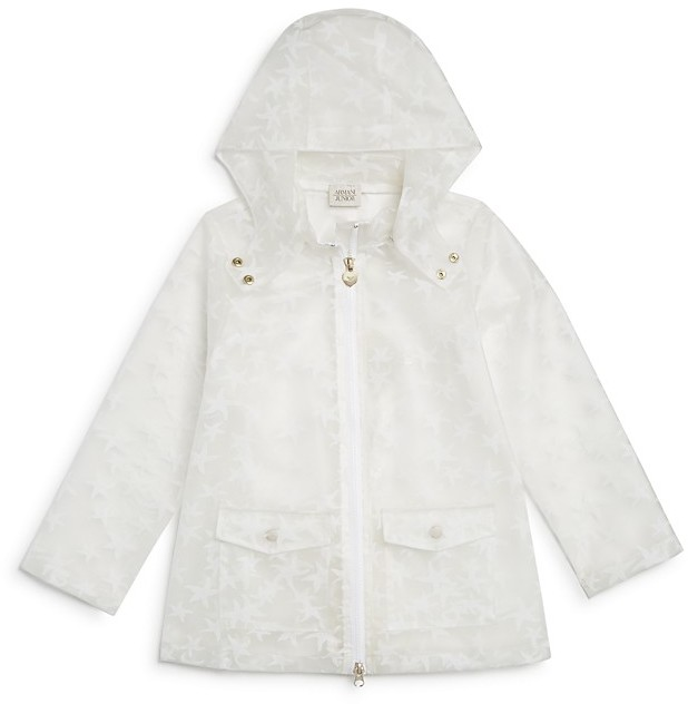 Armani Junior Armani Junior Girls' Starfish Raincoat - Sizes 4-6
