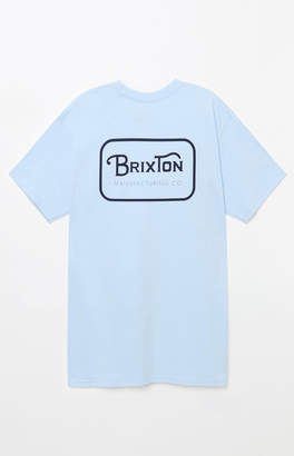 Brixton Grade Light Blue T-Shirt