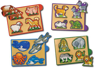 Melissa & Doug Animals Mini-Puzzle Pack