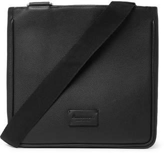 Andersons Anderson's - Full-Grain Leather Messenger Bag - Men - Black