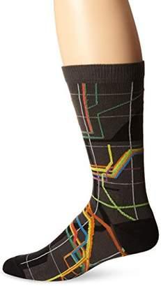 Ozone Men's MTA Vignelli Diagram Sock