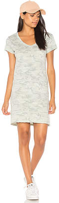 Michael Stars Tee Dress in Sage $78 thestylecure.com