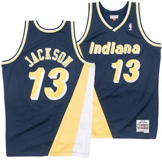 Mitchell & Ness Men's Mark Jackson Indiana Pacers Hardwood Classic Swingman Jersey