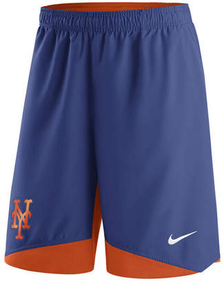 Nike Men's New York Mets Ac Dry Woven Shorts $55 thestylecure.com