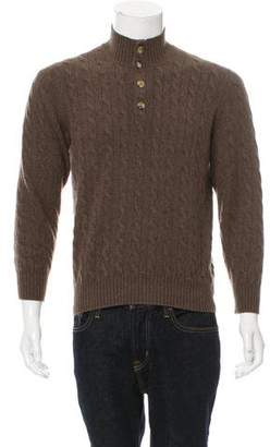 Brunello Cucinelli Cashmere Polo Sweater