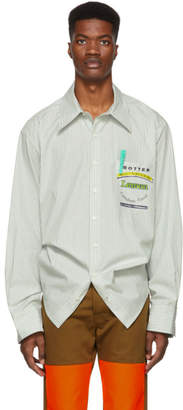 Botter Green Reinier Stripe Shirt