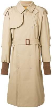 Maison Margiela padded trench coat