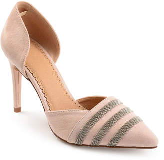 Journee Collection Womens Felicia Pumps Pointed Toe Stiletto Heel