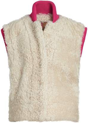 Burberry two-tone fitted gilet